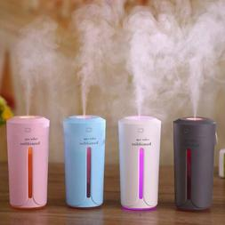 Ultrasonic USB Air Humidifier Electric Aroma Essential Oil D